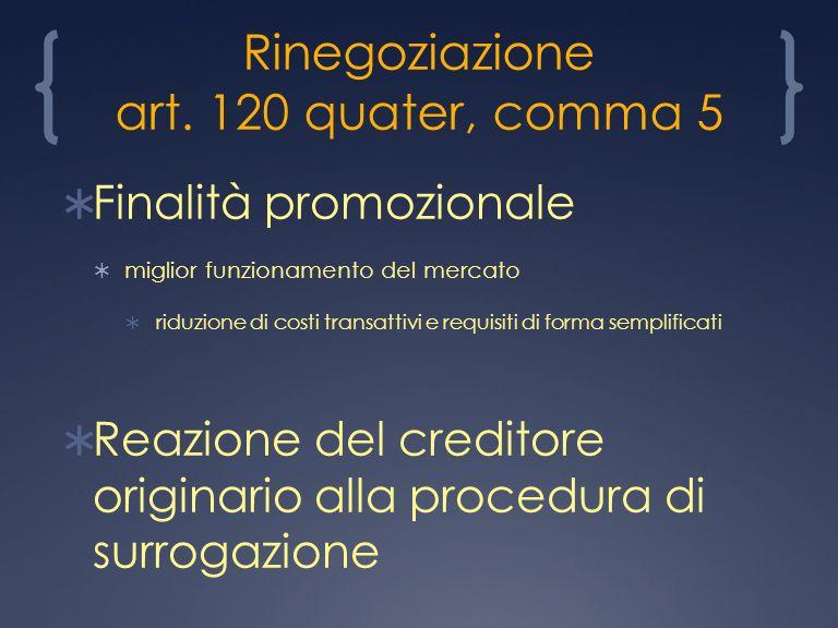 Rinegoziazione art.