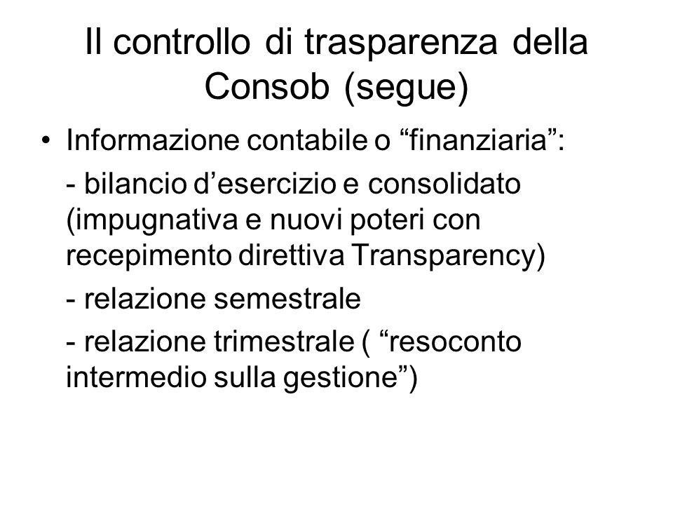Consob e amministratori A) Lamministratore di minoranza previsto dalla legge sul risparmio (art.