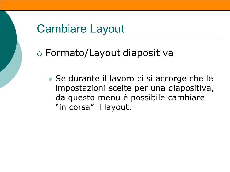 Paragrafi Formato/allineamento/centra Destra Centro Sinitra Formato/interlinea In punti In righe (1 - 1,5 - 2 ecc. ) Formato/Punti elenco Puntati Nume