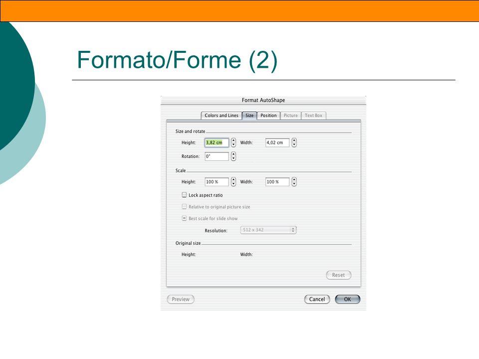 Formato/Forme (1)