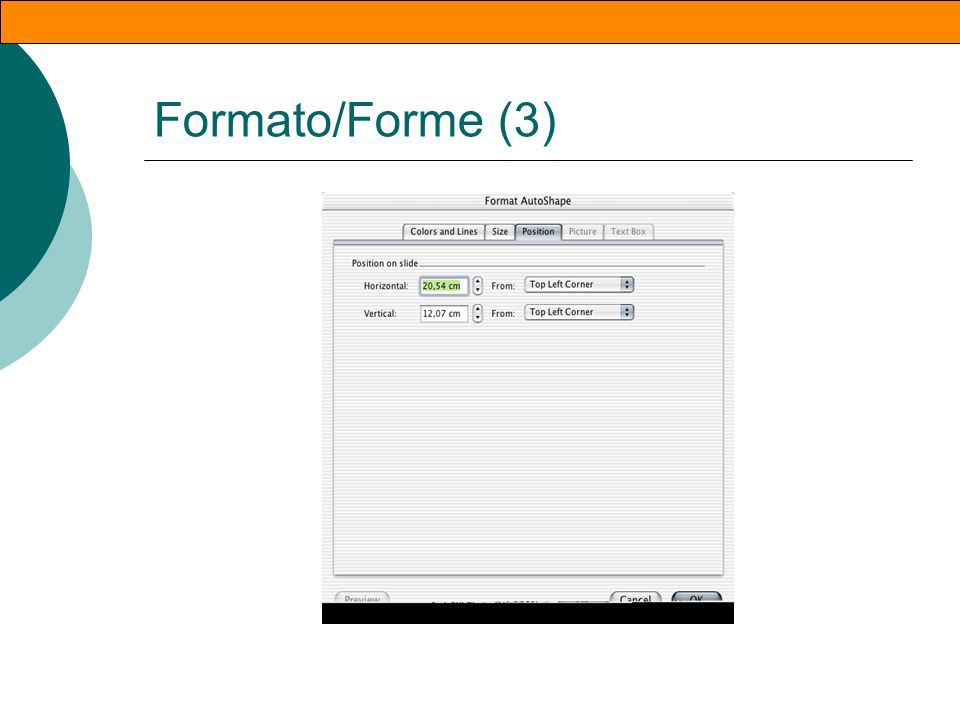 Formato/Forme (2)