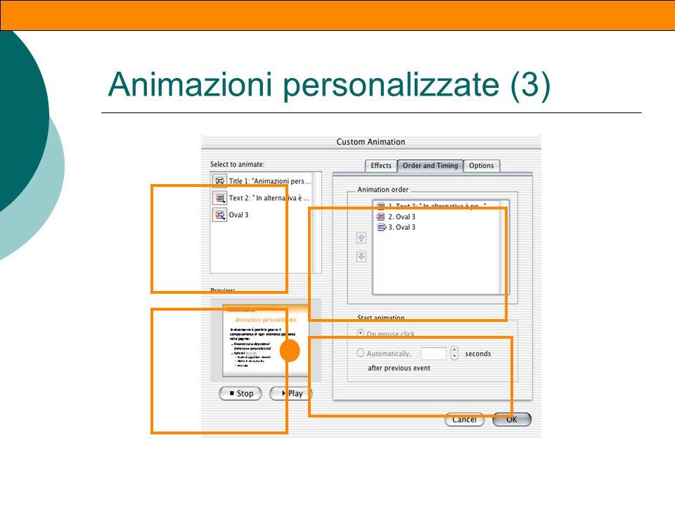 Animazioni personalizzate (2)