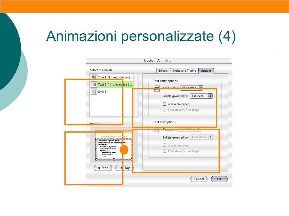 Animazioni personalizzate (3)