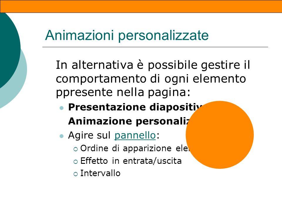 Animazioni personalizzate (4)