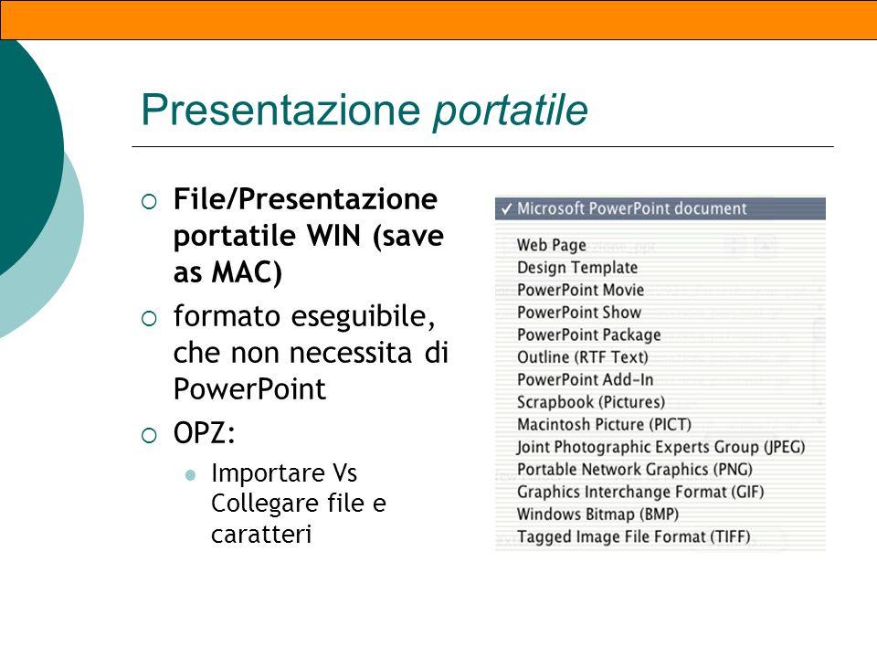 Note, Commenti, piè di pagina Note: non visibili al pubblico durante la presentazione Commenti: Stanno dentro al corpo della diapositiva Sono visualiz
