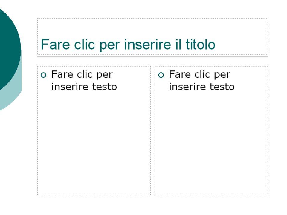 Gli elementi delle diapositive: il testo Una diapositiva di PowerPoint può contenere diversi oggetti: testo, disegni realizzati con strumenti disponib