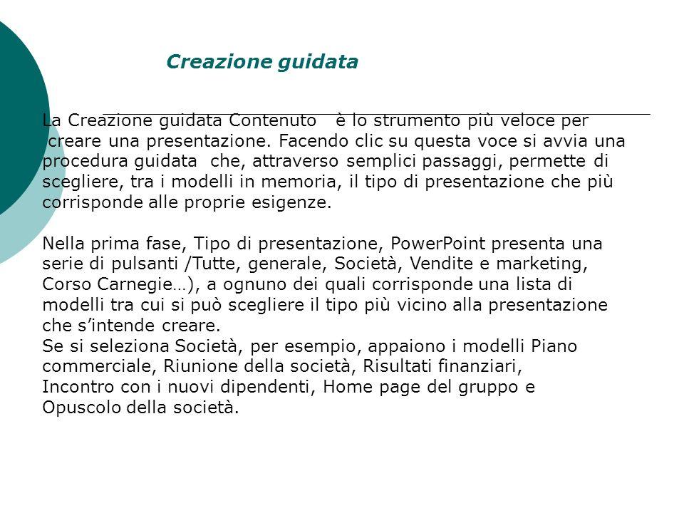 Clic presentazione vuota