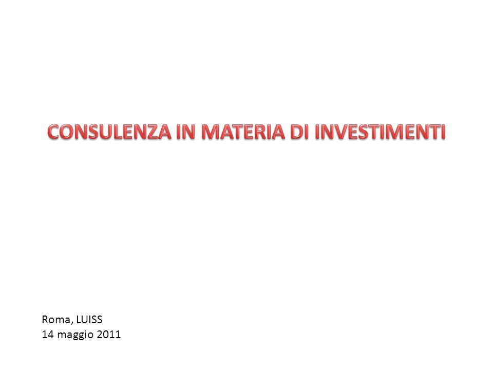 Roma, LUISS 14 maggio 2011