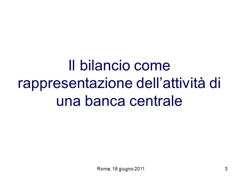 Roma, 16 giugno 201134 Rendimento degli investimenti delle riserve statutarie (art.
