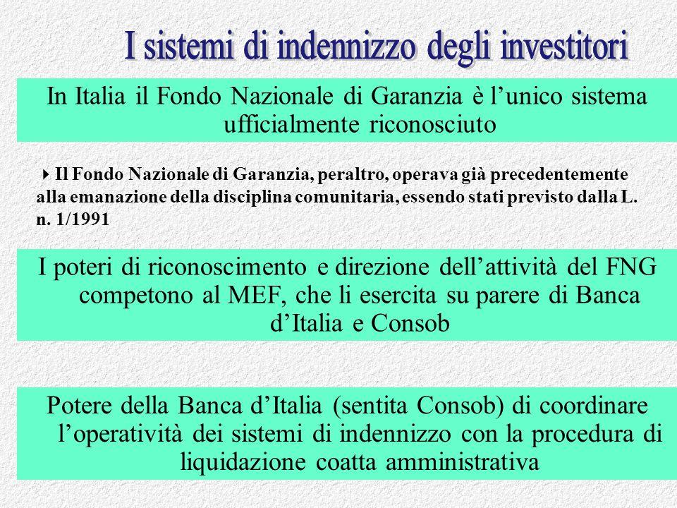 Francesco Garrone febbraio 201138 I poteri di riconoscimento e direzione dellattività del FNG competono al MEF, che li esercita su parere di Banca dIt