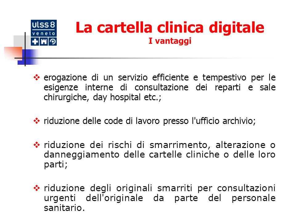 La cartella clinica: larchitettura del sistema Architettura applicativa Web-based