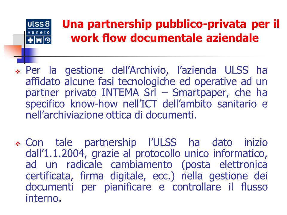 Gli obiettivi principali: realizzazione di un archivio centralizzato per la conservazione di tutta la documentazione cartacea (amministrativa e sanitaria) esistente; realizzazione di un archivio digitale per le cartelle cliniche (n.