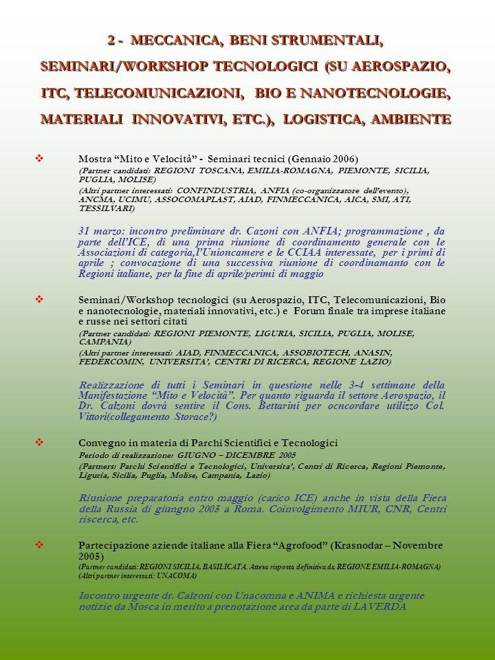 1 - CAMPAGNA DI COMUNICAZIONE E POTENZIAMENTO MEZZI INFORMATICI A.