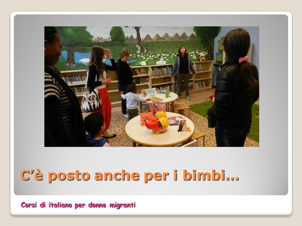 Cè posto anche per i bimbi… Corsi di italiano per donne migranti