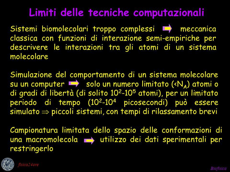 Biofisica fisica24ore Ad ogni conformazione molecolare è associata unENERGIA