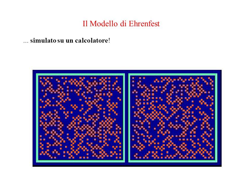 Il Modello di Ehrenfest... simulato su un calcolatore!