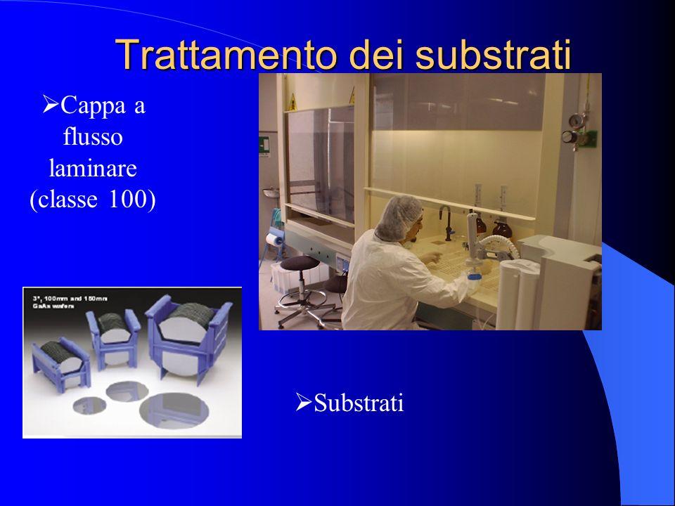 Trattamento dei substrati Cappa a flusso laminare (classe 100) Substrati