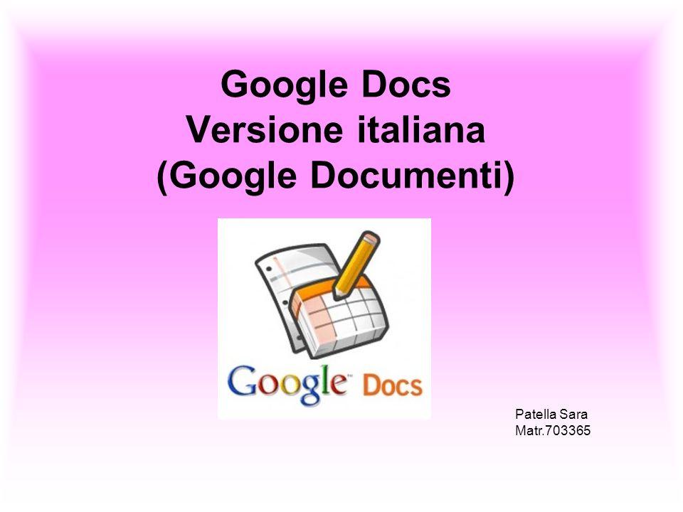 Google Docs Vs Microsoft Office possiede un maggior numero di opzioni nelle singole Applicazioni Il vantaggio però che deriva per Google Docs è quello di non dover essere installato e di essere quindi fruibile da una qualsiasi postazione e la possibilità di condivisione dei file