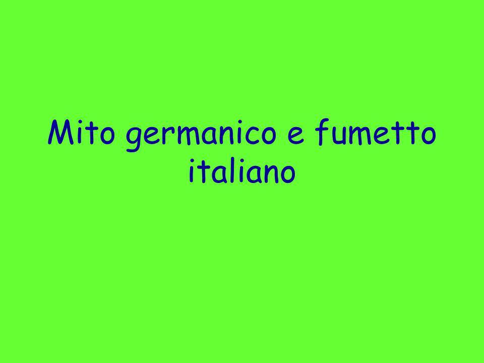 Mito germanico e fumetto italiano