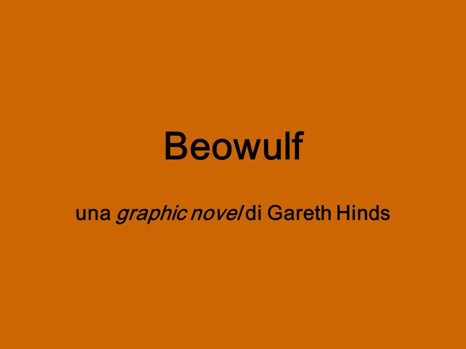 Anche larrivo di Beowulf alla reggia di Hroðgar viene rappresentato in una tavola senza parole.