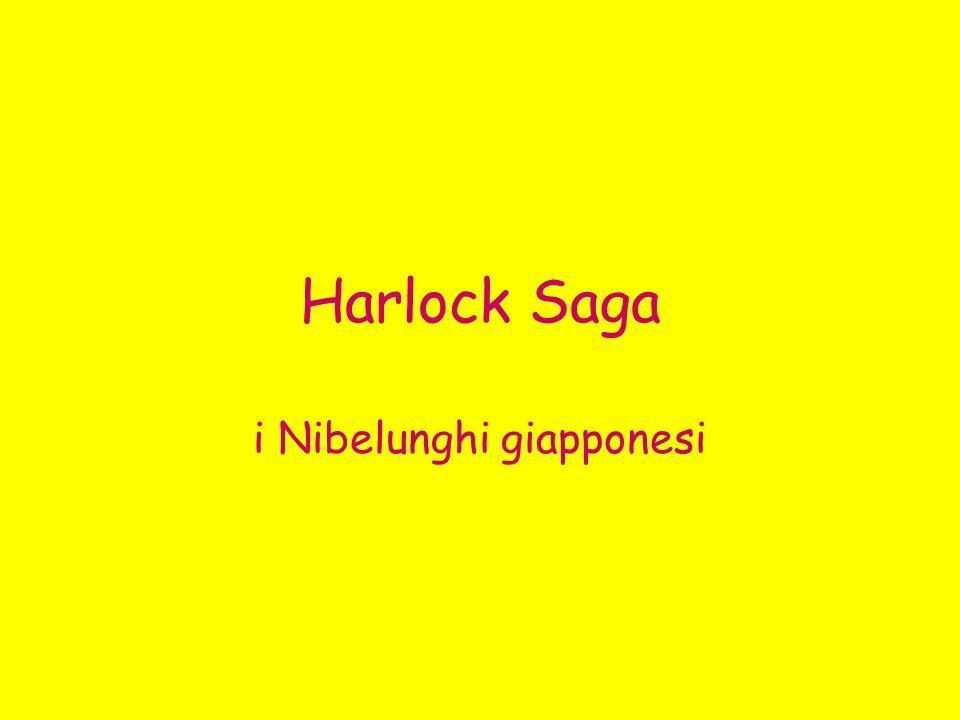 Harlock Saga i Nibelunghi giapponesi