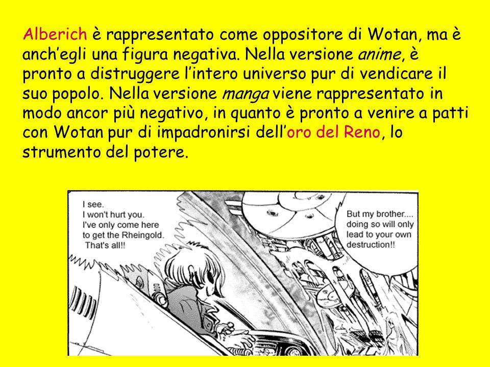 Alberich è rappresentato come oppositore di Wotan, ma è anchegli una figura negativa.