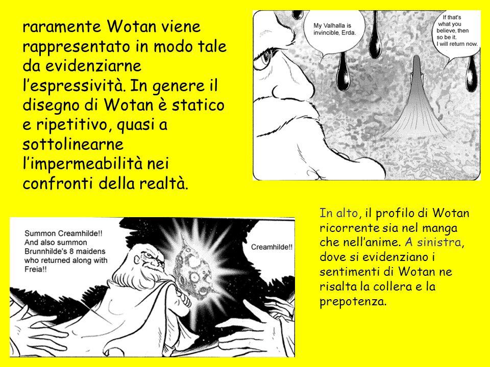 raramente Wotan viene rappresentato in modo tale da evidenziarne lespressività.