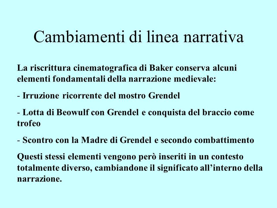 Grendel: mostro dellesterno o dellinterno.