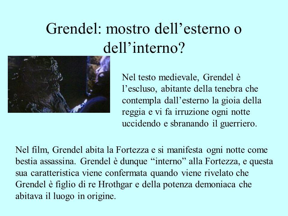 La madre di Grendel Nel film, la Madre di Grendel si presenta come demone lascivo e tentatore.
