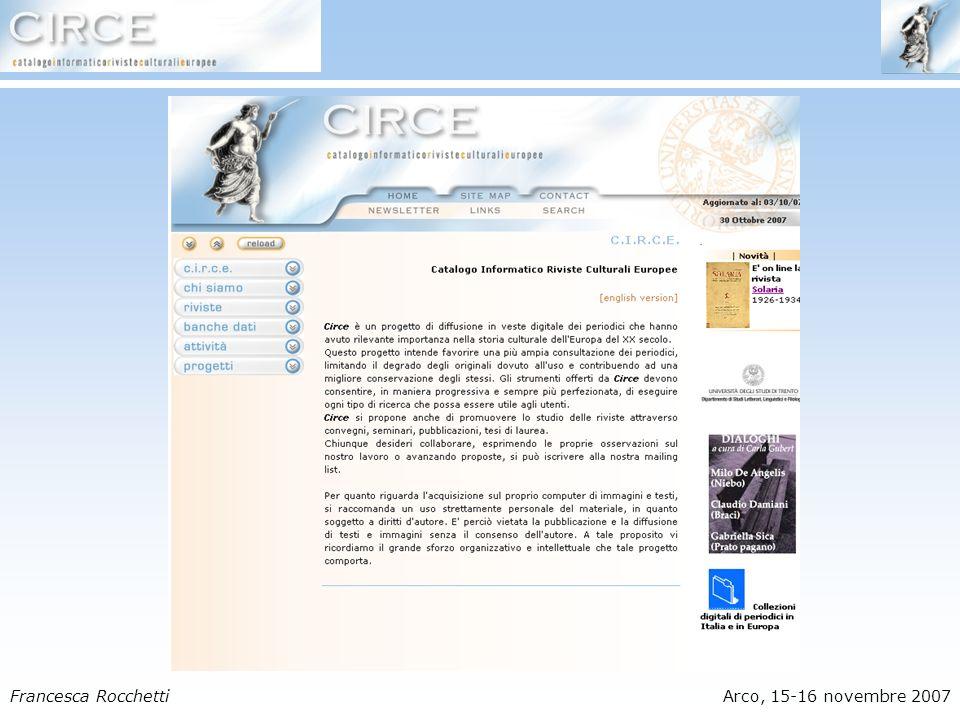 Francesca RocchettiArco, 15-16 novembre 2007