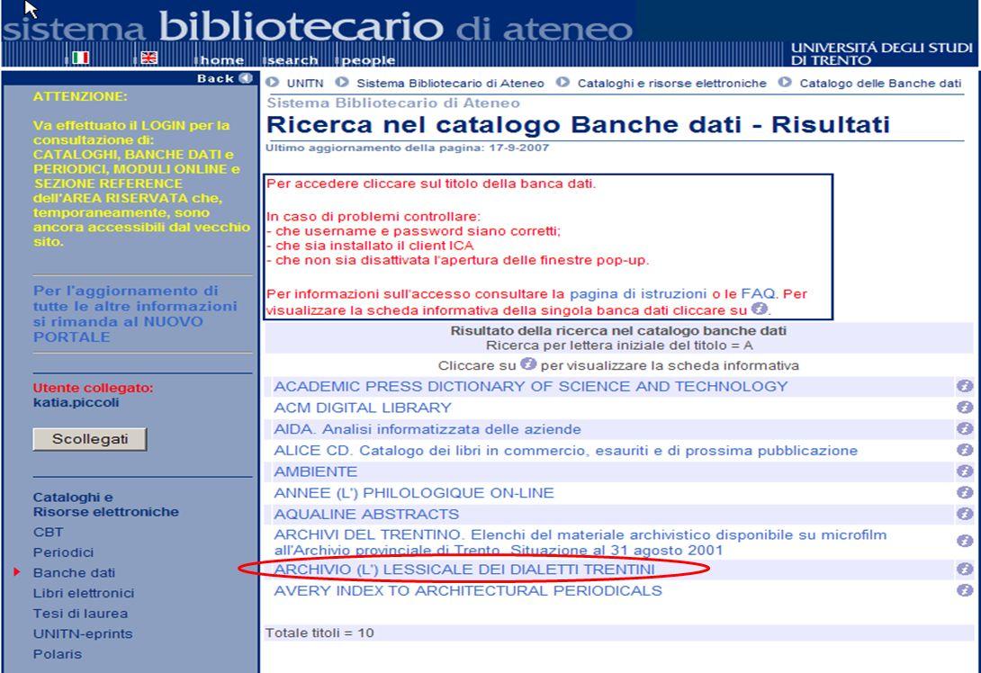 15-16 Novembre 2007 Collezioni digitali di periodici in Italia e in Europa: standard, applicazioni, valutazioni, prospettive 10