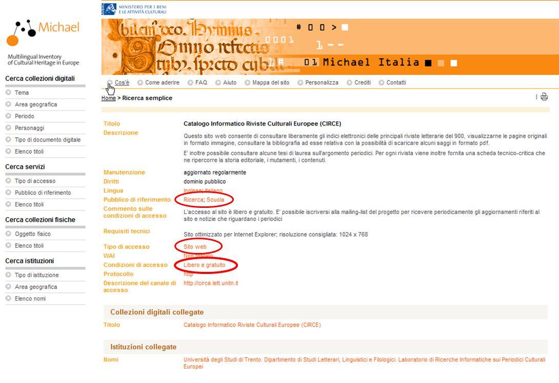 15-16 Novembre 2007 Collezioni digitali di periodici in Italia e in Europa: standard, applicazioni, valutazioni, prospettive 13