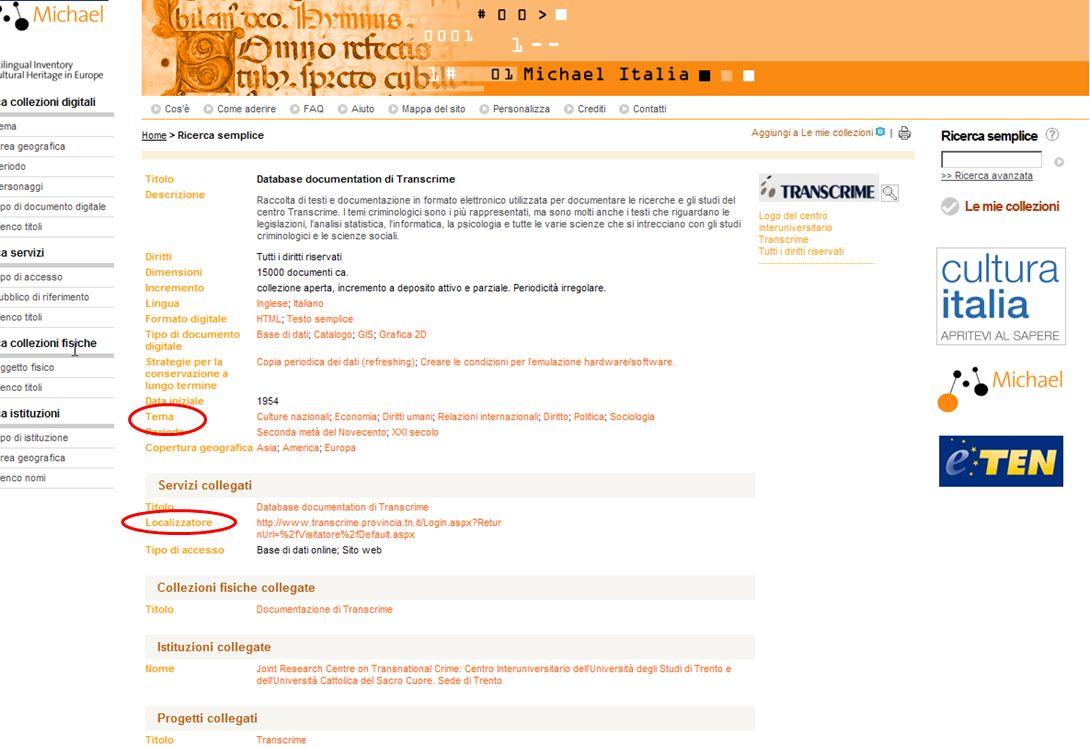 15-16 Novembre 2007 Collezioni digitali di periodici in Italia e in Europa: standard, applicazioni, valutazioni, prospettive 17