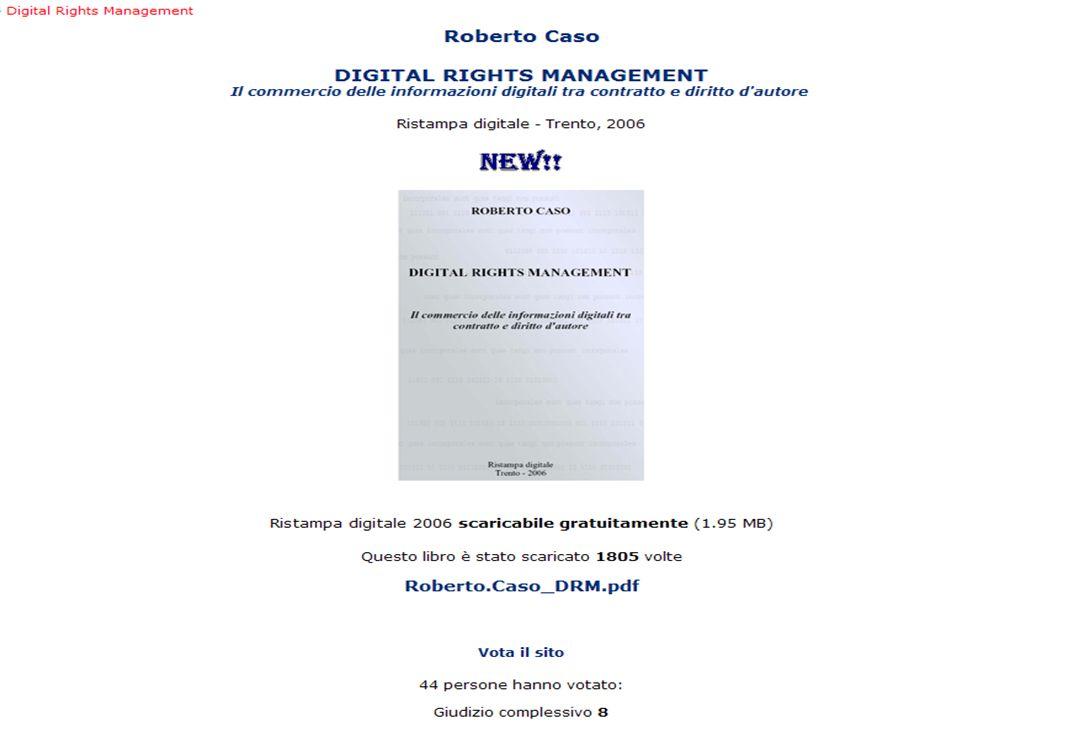 15-16 Novembre 2007 Collezioni digitali di periodici in Italia e in Europa: standard, applicazioni, valutazioni, prospettive 25