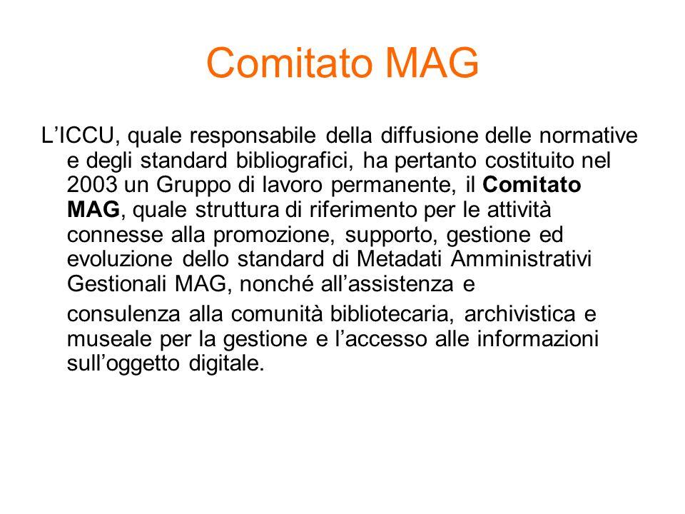 LICCU, quale responsabile della diffusione delle normative e degli standard bibliografici, ha pertanto costituito nel 2003 un Gruppo di lavoro permane