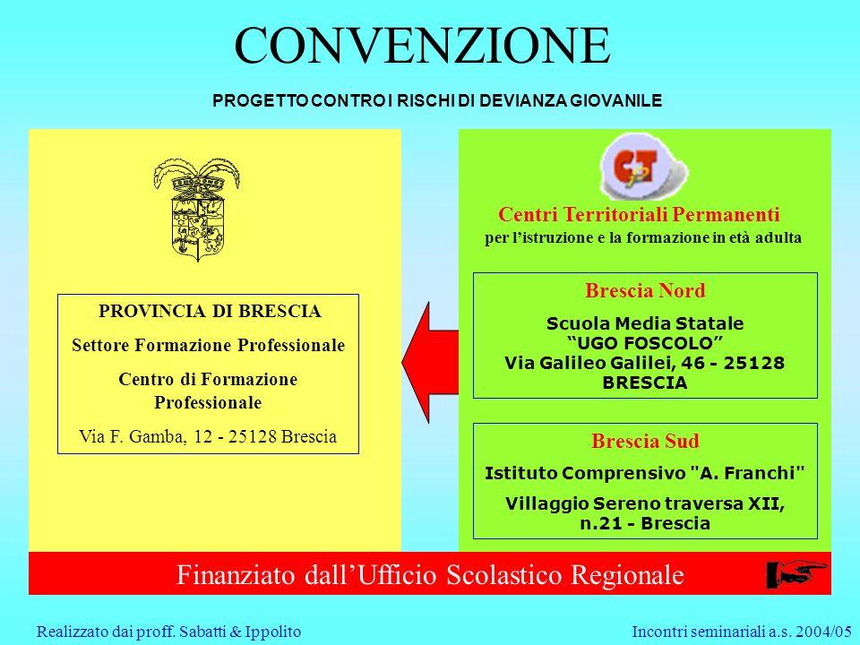 Incontri seminariali a.s.2004/05Realizzato dai proff.