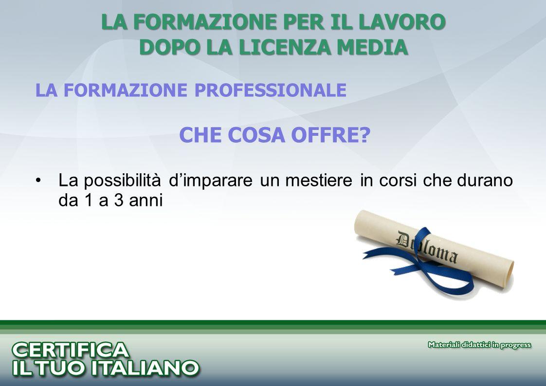 HO UN TITOLO DI STUDIO NEL MIO PAESE.E VALIDO ANCHE IN ITALIA.