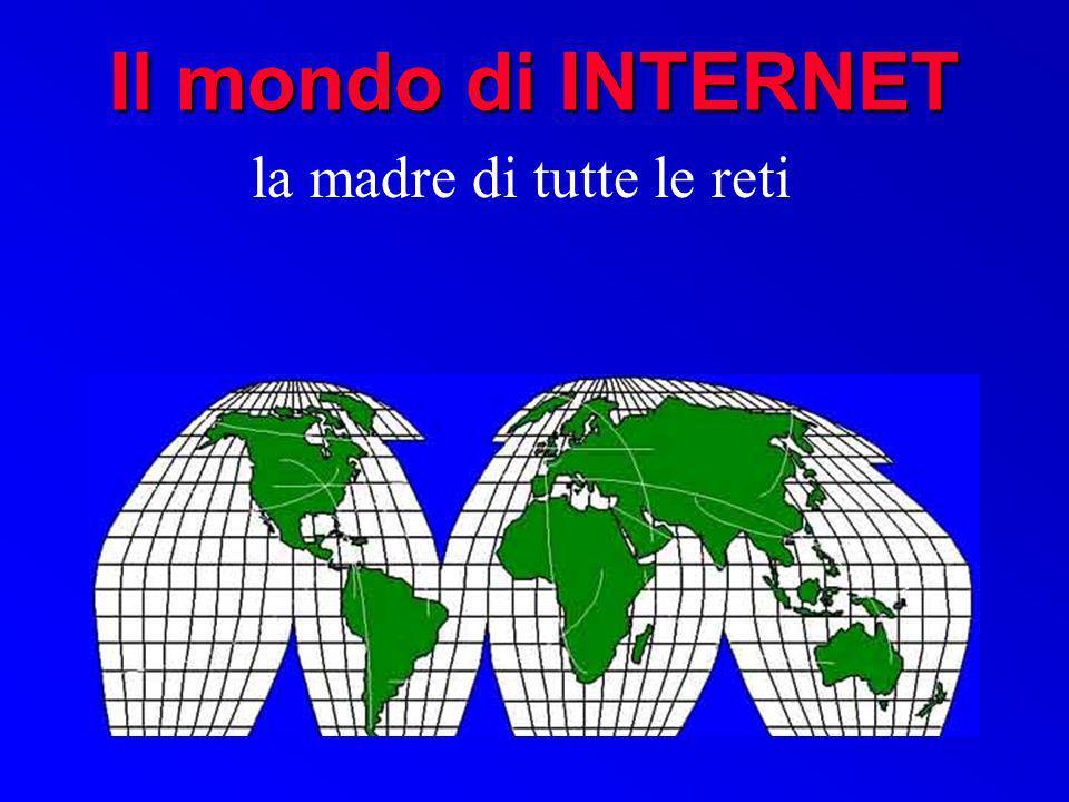 struttura degli indirizzi IP Gli indirizzi di Internet (detti indirizzi IP) sono organizzati gerarchicamente.