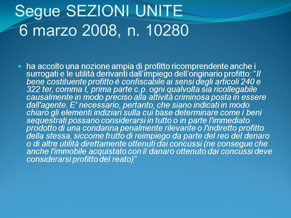 Segue SEZIONI UNITE 6 marzo 2008, n.