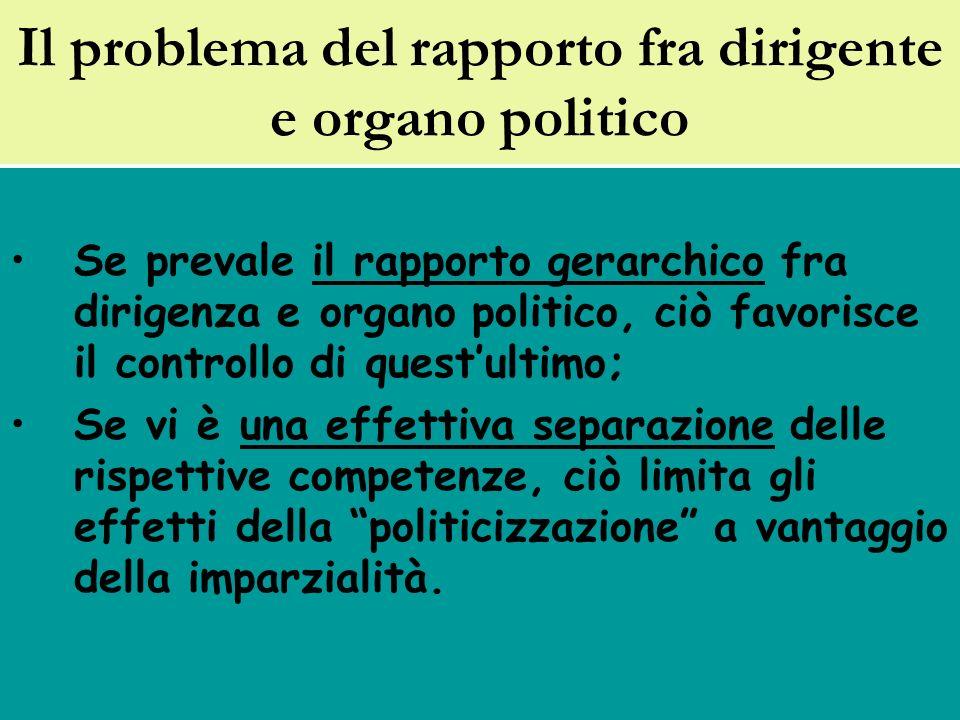 Il c.d.Spoil system: lart. 19, comma 8, d. lgs. n.