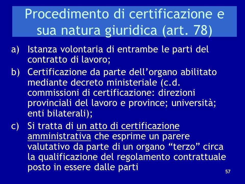 Il tentativo operato dal legislatore nellambito della c.d. Riforma Biagi Testo originale Art. 75 d. lgs. n. 276/2003 Al fine di ridurre il contenzioso