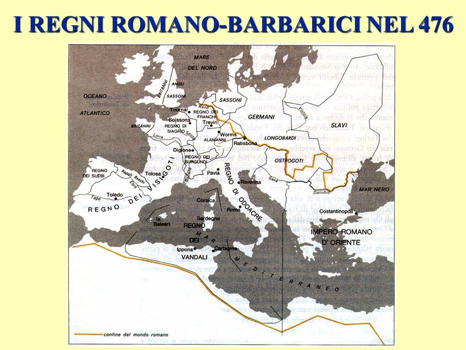 I REGNI ROMANO-BARBARICI NEL 570