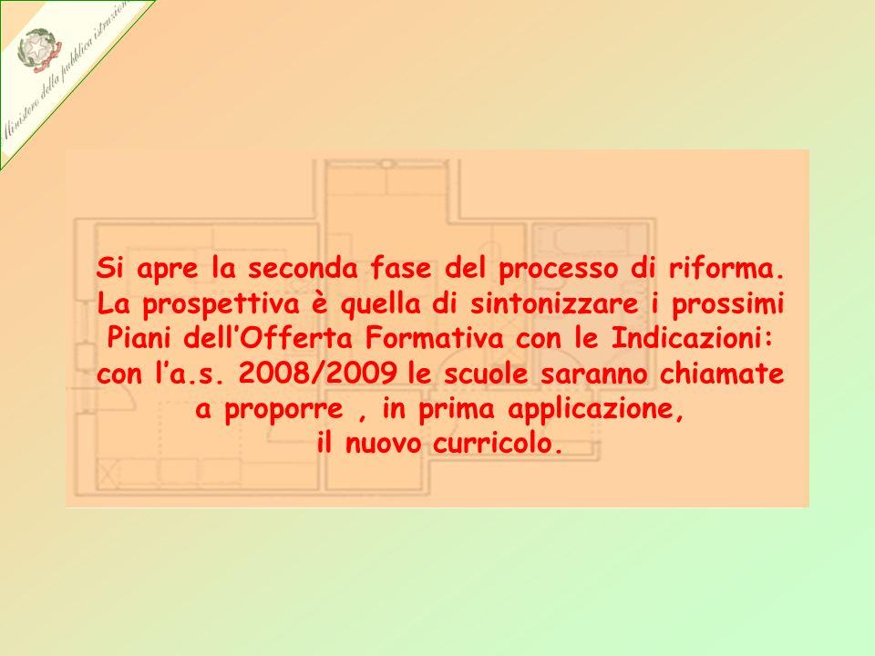Si apre la seconda fase del processo di riforma.