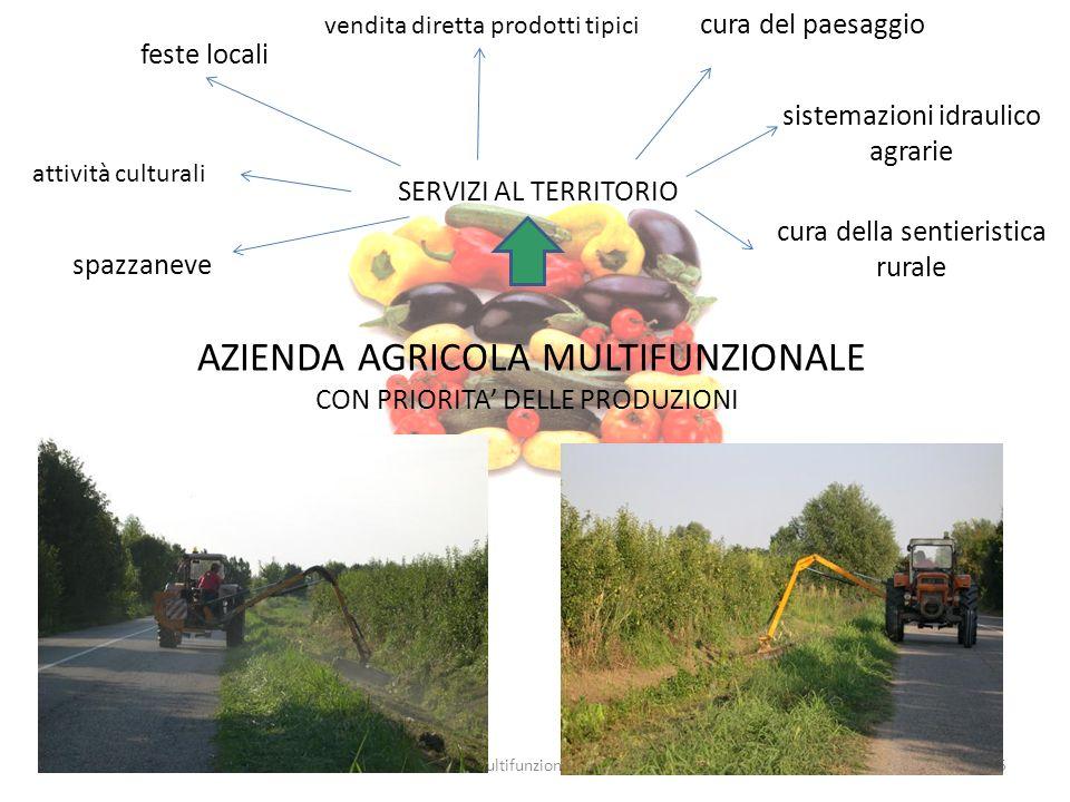 5multifunzionalita' AZIENDA AGRICOLA MULTIFUNZIONALE CON PRIORITA DELLE PRODUZIONI SERVIZI AL TERRITORIO feste locali vendita diretta prodotti tipici