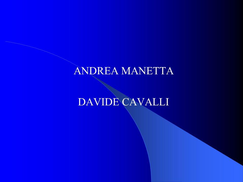 ANDREA MANETTA DAVIDE CAVALLI