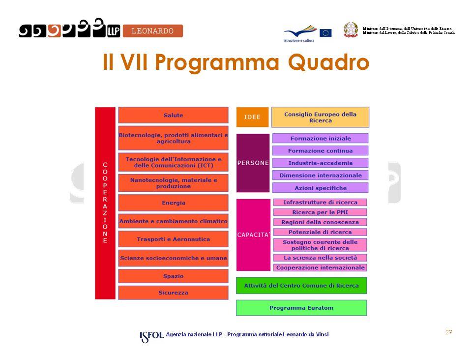 Il VII Programma Quadro 29