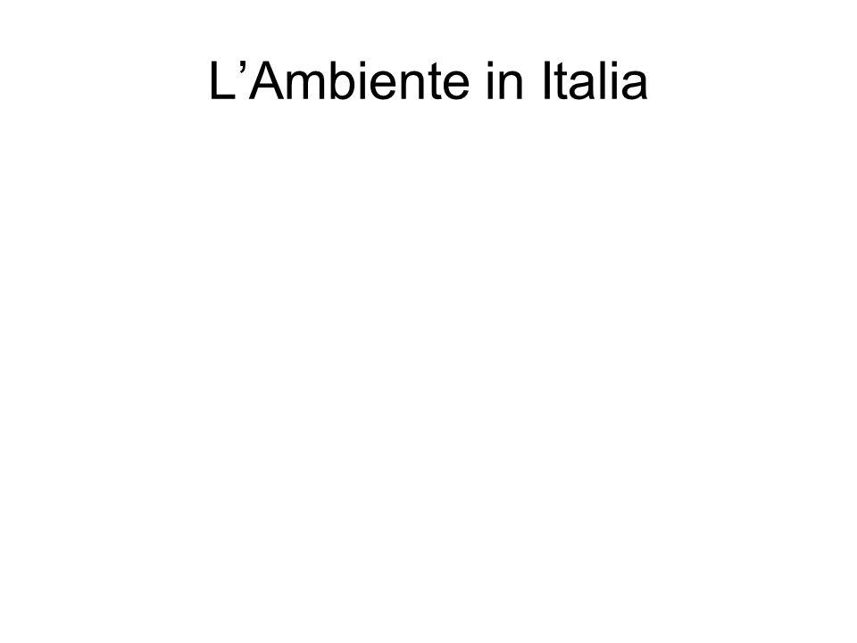 LAmbiente in Italia