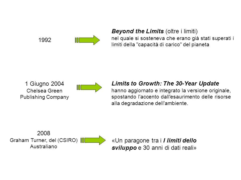 1992 Beyond the Limits (oltre i limiti) nel quale si sosteneva che erano già stati superati i limiti della