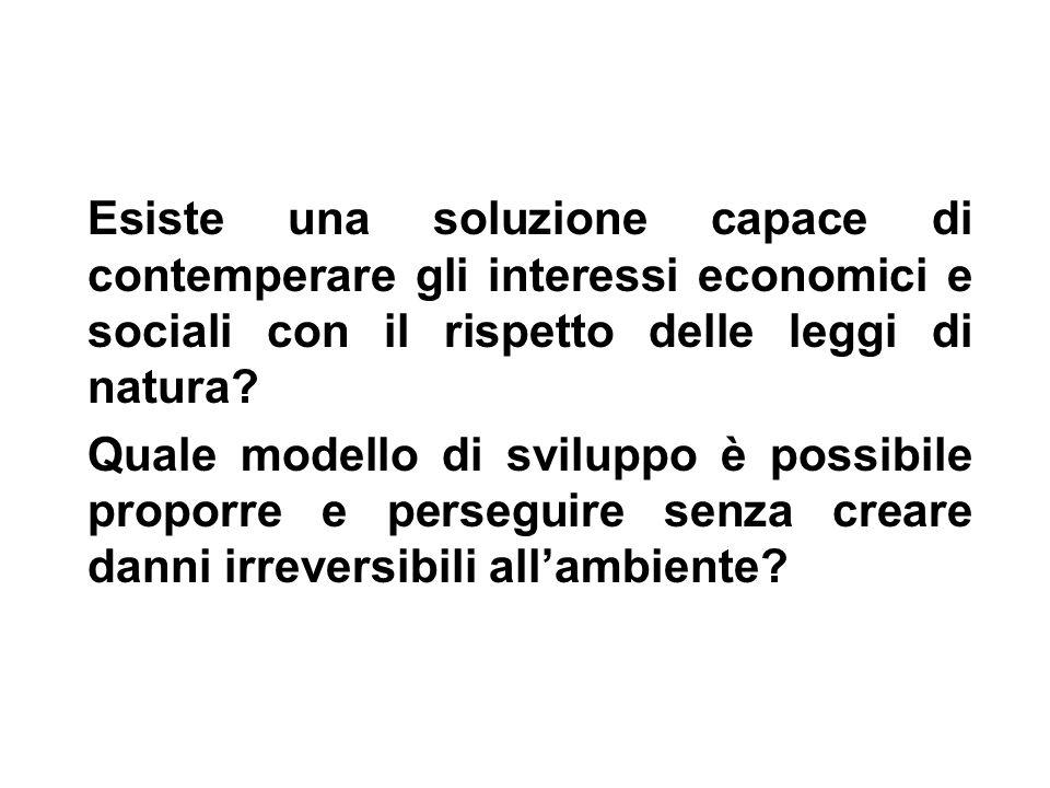 Il Governo e lAmministrazione dellambiente in Italia.