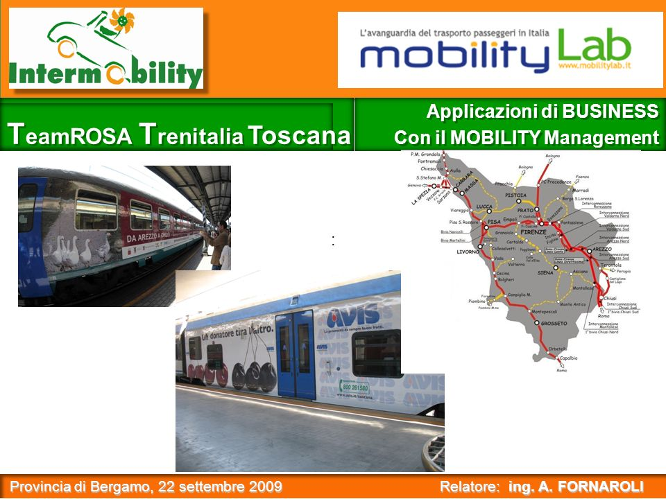 Provincia di Bergamo, 22 settembre 2009 Relatore: ing.